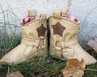 Cowboy Boots: Baby Cowboy Boots PDF Pattern, Baby Boots PDF Pattern