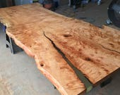 Live Edge Maple Slab Dini...
