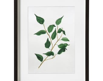 Twig,Instant Download,Handmade, Watercolor paint,paper,PNG, Watercolor painting,