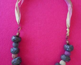 Ethnic necklace Vesuvius