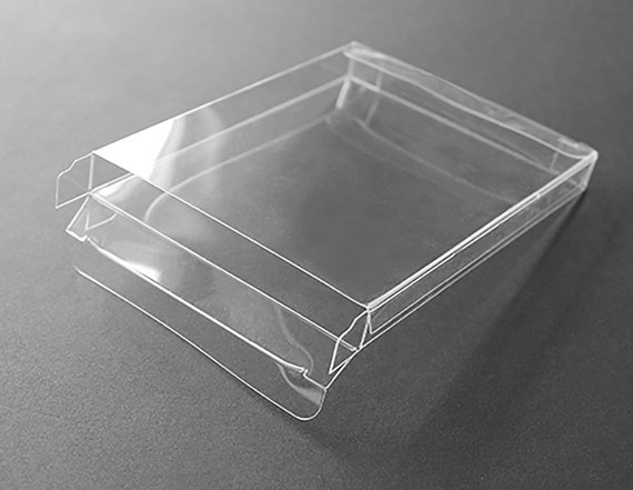 A2 clear plastic greeting card boxes set of 25 4 12 m4hsunfo