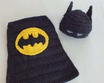 Batman crochet hat etsy batman baby set pdf pattern dt1010fo