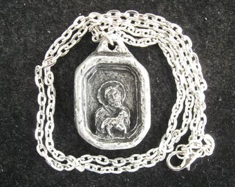 I Am with You Always: Comfort and Assurance in a Difficult Time; Handmade Pendant on Chain
