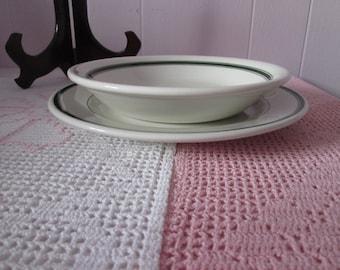 Vintage plate and Bowl / Vintage Plate and bowl