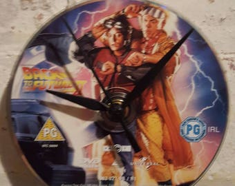 Back to the Future Part 2 DVD clock