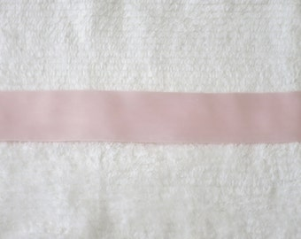 """2"""" Light Pink, Baby Pink, Soft Pink Double Faced Silk Satin Ribbon"""