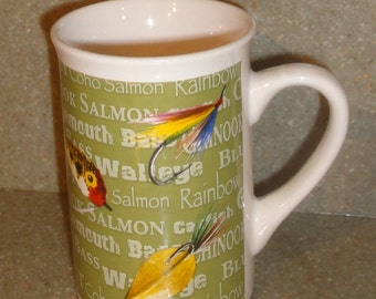 Collectible Field and Stream Fishing Lure Mug/Chinook