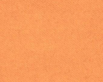 Hand-dyed Orange Wool