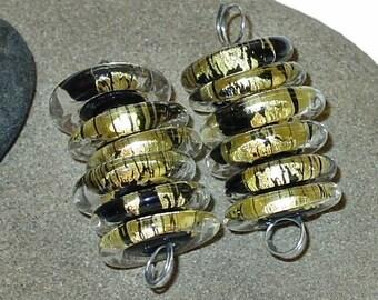 BHG   Golden jet discs--set of six