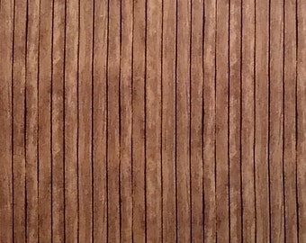 Brown Wood Fence Fabric-Elizabeths Studio-Rustic Wood Fabric-Wood Quilt Fabric-Stripe Quilt Fabric-Country Quilt Fabric-Wood Quilting Fabric