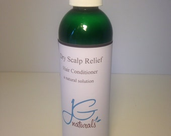 Natural Hair Conditioner Dry Scalp Relief 8 ounces