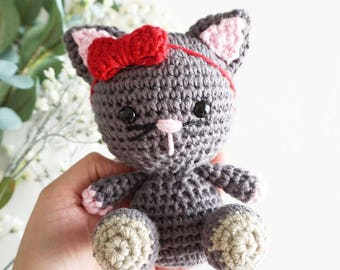 Clover the Cat, Essential Oil Diffuser, Made-to-Order, Handmade, Stuffed Animal, Diffuser Babies