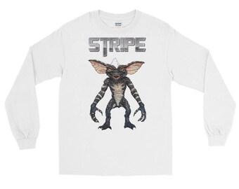 Stripe Gremlin Long Sleeve T-Shirt