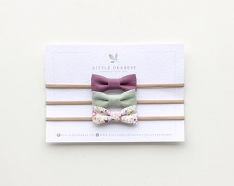 Mini bow set - Iris