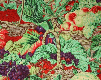 Kaffe Fassett Collective Market Basket Antique Fabric by the Yard PWPJ067-ANTIQUE