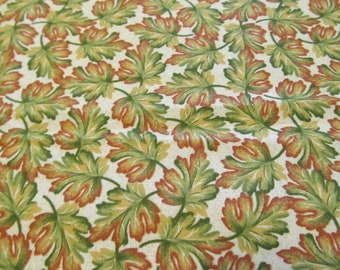 Free Shipping! Leaves of Autumn by Joan Pace Baker. 1/2 Yard. 17124