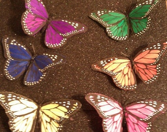 Mariposa, Butterfly, Butterfly clip, butterfly barrette, butterfly sale, ready to ship, hair clip, christmas gift, gifts for her