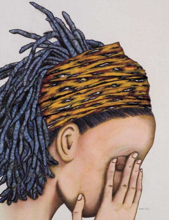 NIGIER RIVER BLUES Limited Edition Fine Art Print