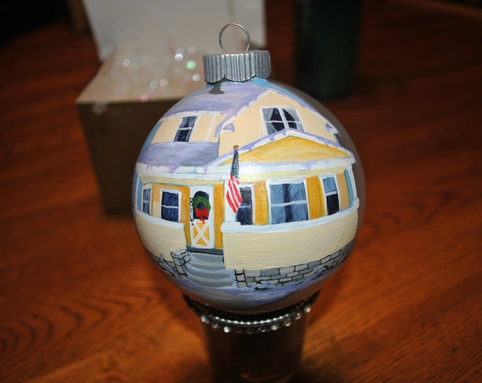 Home sweet Home Christmas Oranament full of memories   SOLD