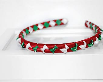 Christmas Headbands. Perfect accessory for adults, teens and kids. Trendy and can be customised for hairclips and elastic.