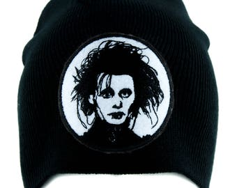 Edward Scissorhands Beanie Alternative Gothic Clothing Knit Cap Tim Burton - YDS-EMPA-029-BEANIE