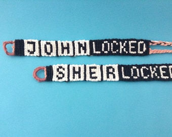 SHERLOCKED & JOHNLOCKED Bracelet