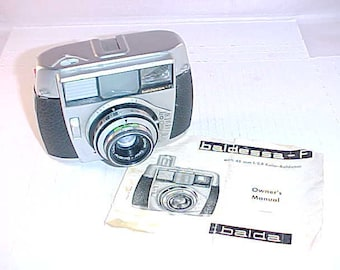 Baldessa - F 35mm Camera With Owner's Manual