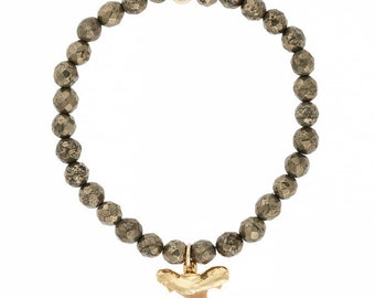 Kea Shark Tooth Pyrite Bracelet