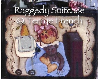 Raggedy Suitcase, Terrye French, email pattern packet