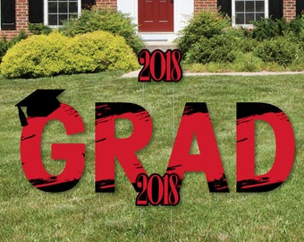 Graduation Yard Sign Etsy