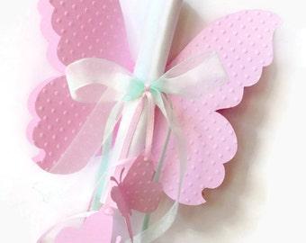 10 Custom Butterfly Invitation - Baby Shower, Birthday, Christening,Wedding Invitation - Set of 10 pcs  -CHOOSE YOUR COLORS