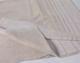 Vintage Linen Tablecloth - Made in Finland