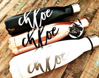Like a Yeti Water Bottle|Like A Swell Water Bottle|Monogrammed Water Bottle|Bridal Party Water Bottle|Personalized Travel Water Bottle