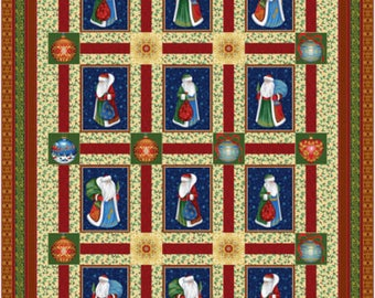 Father Frost's Rhapsody Quilt
