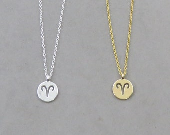Aries Necklace 127