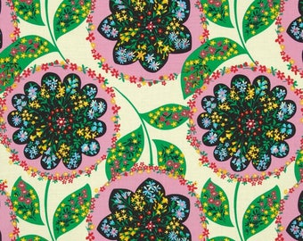 1 Yard Amy Butler AB071 BLUSH LARK Charisma Westminster Flowers Floral Quilting Sewing Fabric