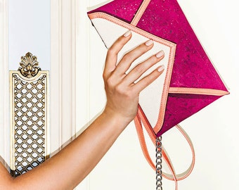 Riviera envelope clutch -Free US Shipping