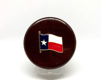 Texas Flag Wine Stopper – Color