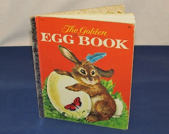 "Little GOLDEN BOOK 1962 – ""The Golden Egg Book"" Marked ""D"""