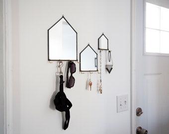 Modern Mirror House Wall Organizer - 3 Sizes