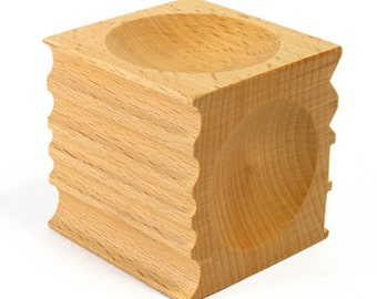 Wood Forming Block - for Jewelry Making - 25-147
