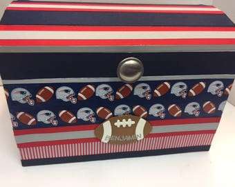 Patriots Time Capsule Storage Chest