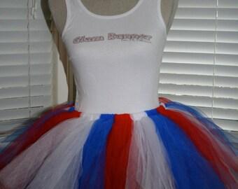 Miss American Pie (Red, White & Blue) Tutu