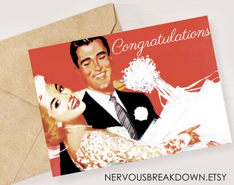 Wedding Congrats - PRINTABLE CARD