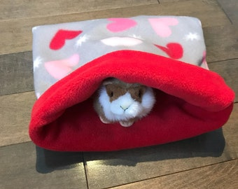 Piper's Pouches - Washable Fleece Snuggle Sack / Cuddle Bags that is Perfect for Guinea Pigs/Hedge Hogs/Hamsters/Rabbits and Ferrets