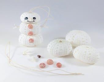 Make your own Christmas ornament kit, snowman ornament, kids craft, kids ornament, snowman craft