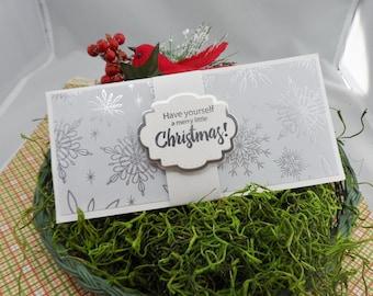 Christmas Money Holder, Money Card, Christmas Money Card, Money Card Holder, Money Gift Holder