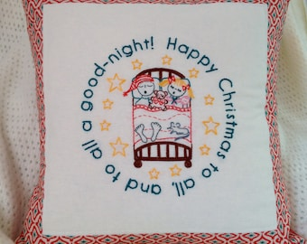 The Night Before Christmas - Holiday Embroidery Pattern PDF - Includes Stitch and Color Guide
