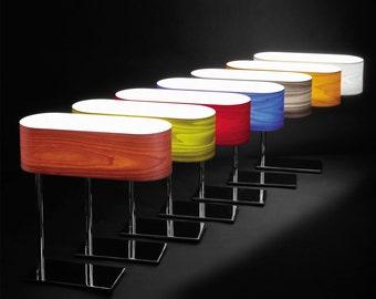 Rustic Industrial Lighting - Contemporary lighting - Wooden desk lamp - Unique Table Lamp - Housewares - Lighting - Home decor - venner lamp