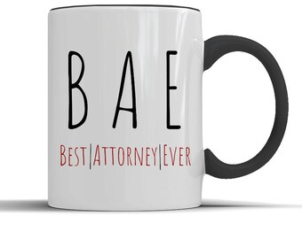Lawyer BAE Best Attorney Everlawyer Giftattorney Giftlawyer Mugattorney Muglawyer Coffee Giftsgift For